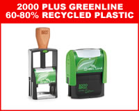 2000 PLUS Greenline 60-80% Recycled Plastic