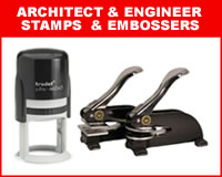 Architect & Engineer Stamps & Embossers