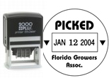 Cosco 2000 plus Series Plastic Date Stamps