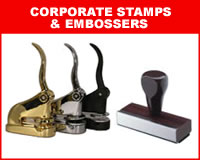 Corporate Stamps & Embossers