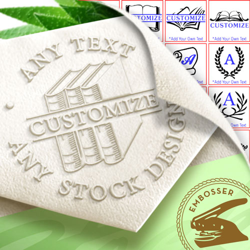 Stock Artwork Embossing Seal