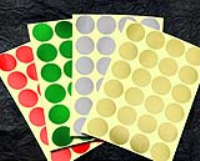 Economy Foil Embossing Labels