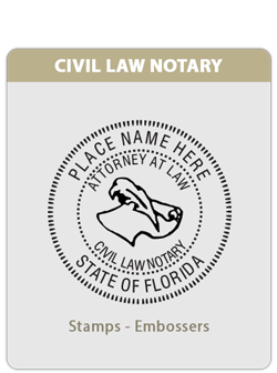 FL-Civil Law Notary