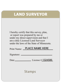 MN-Land Surveyor Certified Doc.