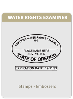 OR-Water Rights Examiner