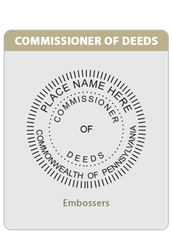PA-Commissioner of Deeds