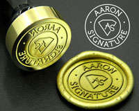 Custom Artwork Wax Seals